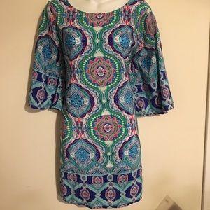 Multicolored BeBop Size Large Dress